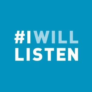 #IWillListen. Mental Health. Healthy. Stop the Stigma.