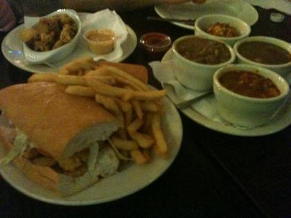"""The Market Café in the French Quarter of New Orleans. Travel Snack Boxes - """"Road trips and food – what to pack and where to eat."""" Travel. Kids. Family. Summer. Foodie."""