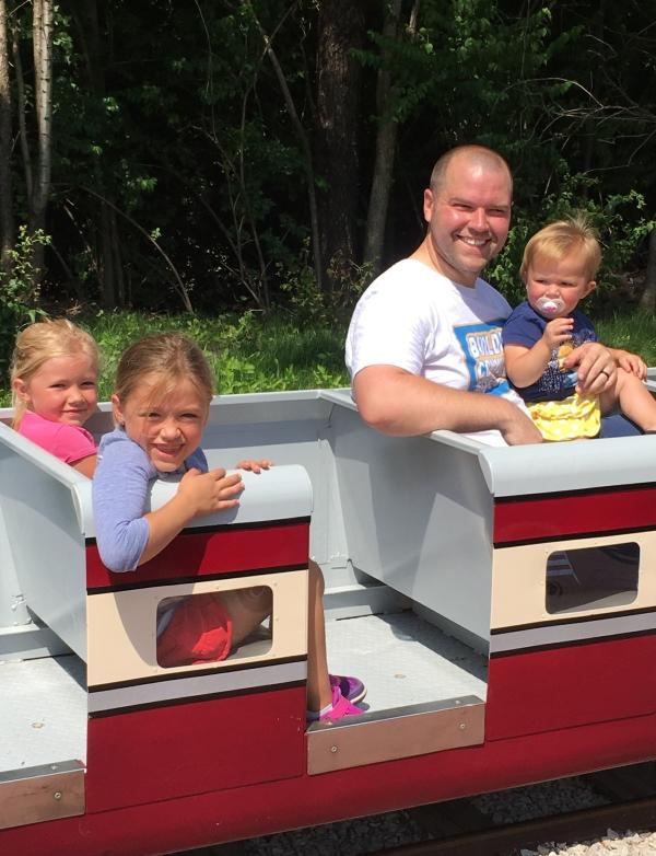 Hidden Gem: Kansas City Northern Railroad. Summer. Kids. Family. Adventure.
