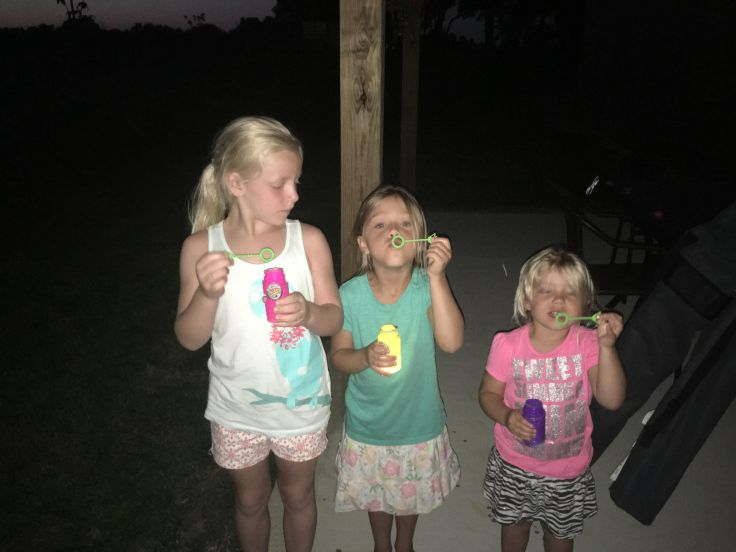 Glow in the Dark Bubbles. Pinterest. Summer Fun. Family. Kids. Children. Outdoors.