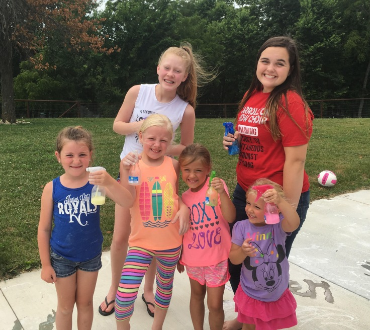 Spray Sidewalk Chalk. Pinterest. Summer Fun. Family. Kids. Children. Outdoors.