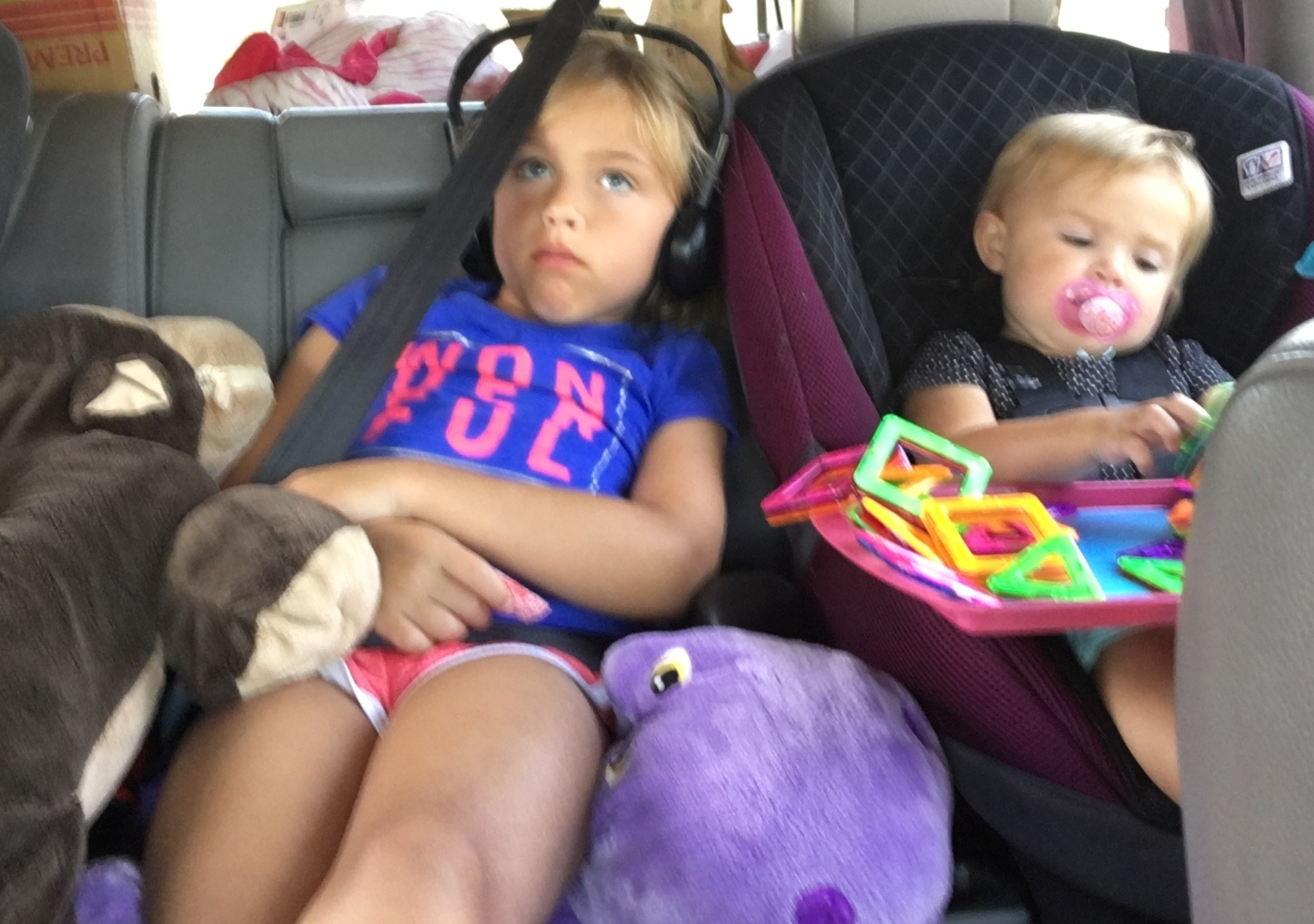 Road tripping with the kids: what to bring