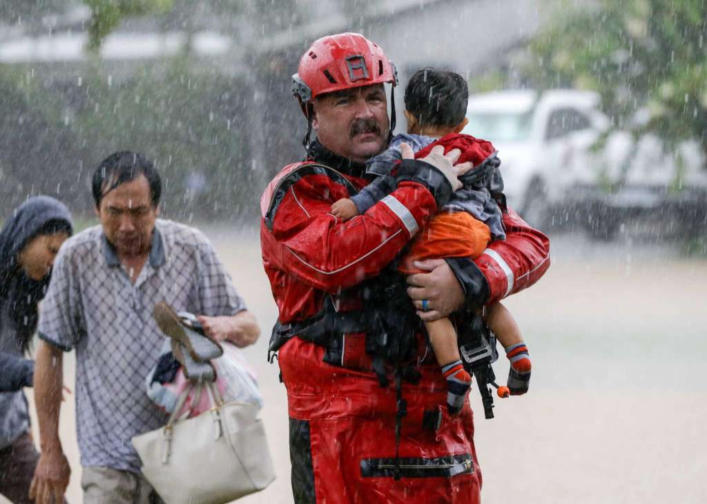 """I'd rather be laughed at like Noah."" Preparedness. Red Cross."