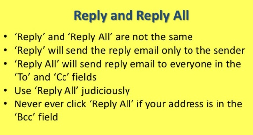 Reply All Ridiculousness. Email.