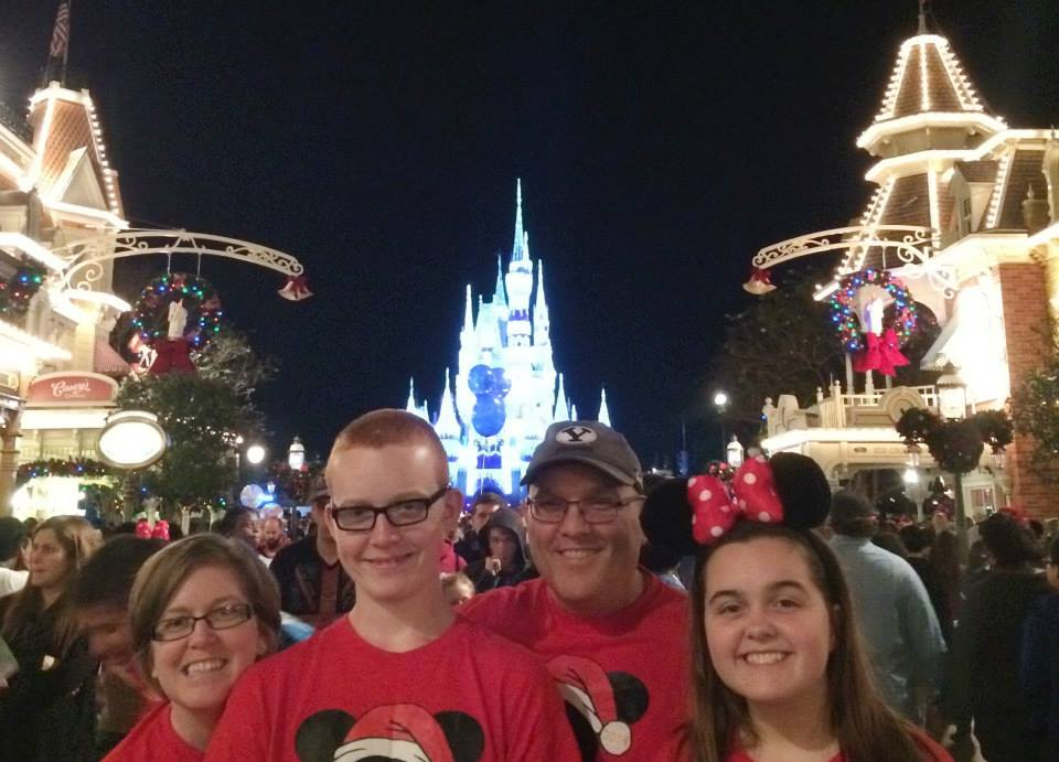Are we missing the whole point? Christmas. Disney World. Happy Holidays.